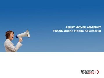 Mobile Advertorial - Tomorrow Focus Media