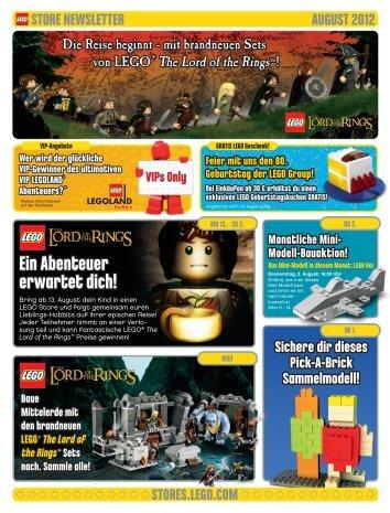 Ein Abenteuer erwartet dich! - Lego