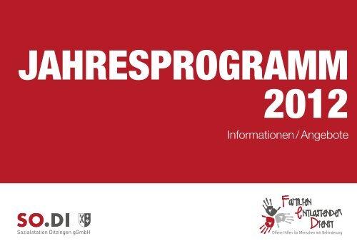 Informationen / Angebote - SO.DI Sozialstation Ditzingen