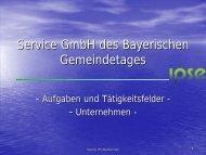 Service GmbH des Bayerischen Gemeindetages - ipse-service.de