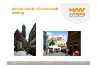 Studie II Angebot Einkaufsstadt Amberg_HAW - Stadtmarketing ...