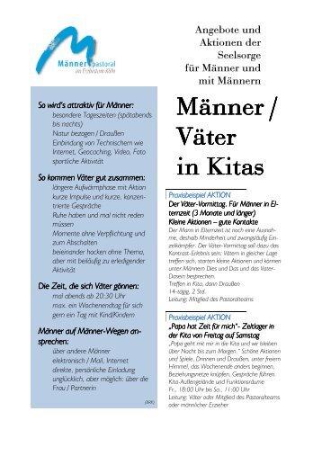 Männer / Väter in Kitas - Erzbistum Köln