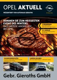 Opel Aktuell - Auto Treffpunkt Gieraths