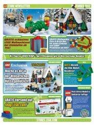 GRATIS exklusives LEGO Weihnachtsset bei Einkäufen ab 75