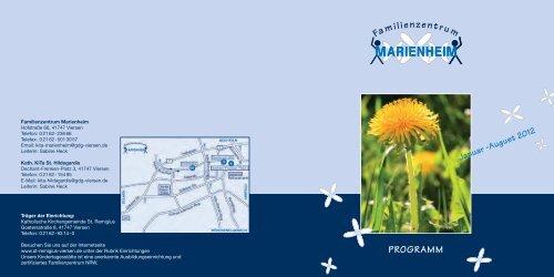 Familienzentrum Marienheim - Stadt Viersen