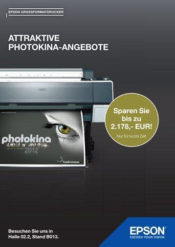 ATTRAKTIVE PHOTOKINA-ANGEBOTE - MacConsult