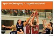 Sport und Bewegung l Angebote in Riehen