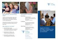 Angebote für Familien mit Kindern in stationären Hilfen der St ...