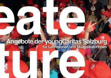 Angebote der youngCaritas Salzburg