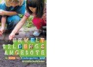 UMWELT BILDUNGS ANGEBOTE - Franckesche Stiftungen