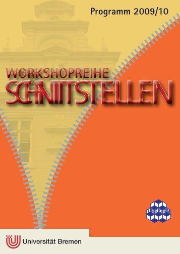 Programm 2009/10 - Universität Bremen