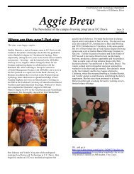 Aggie Brew - Food Science & Technology - University of California ...