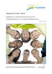 Wegweiser Schule – Beruf Angebote zur Berufsorientierung und im ...