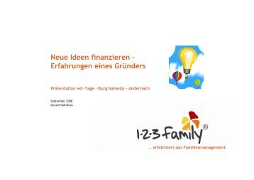 Download (PDF) - WIR | Das Magazin für Unternehmerfamilien