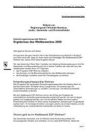 Referat Regierungsrat Christoph Neuhaus, Justiz ... - Kanton Bern