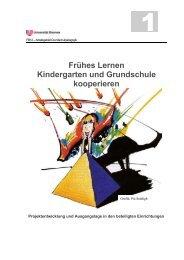 Frühes Lernen Kindergarten und Grundschule kooperieren