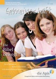 Bibel bewegt - die Apis