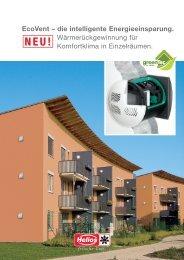 EcoVent – die intelligente Energieeinsparung ... - Helios (CH)