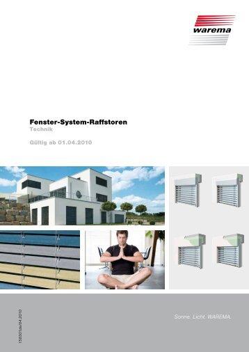 Fenster-System-Raffstoren - Finkeisen Sonnenschutz