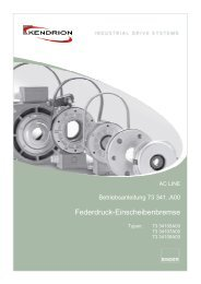 Kendrion Binder Magnete GmbH Power Transmission ...