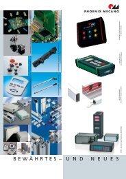 Bewährtes und Neues - Phoenix Mecano Komponenten AG
