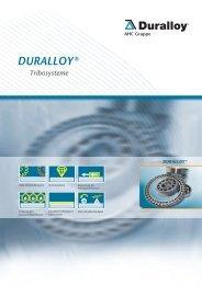Funktionelle Veredelungen - Duralloy