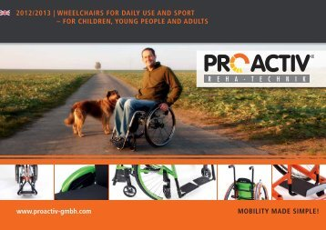 Catalogue Wheelchairs - page PRO ACTIV GmbH
