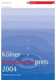 Broschüre 25 kreative Ideen aus Köln [ PDF , 5521 - Stadt Köln