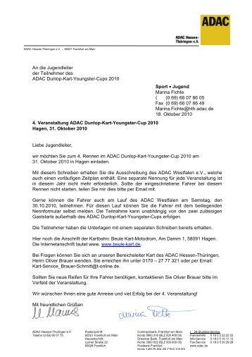 Kart-Youngster-Cup 2010 - MSC Rockenberg eV im ADAC