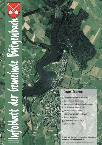 Heft 03 - Winter 2002 - Gemeinde Bütgenbach