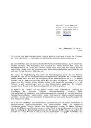 Basisweiterbildung Innere Medizin - Dietrich Bonhoeffer Klinikum ...