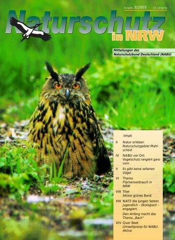NRW aktuell 3/2003 - Nabu