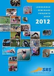 Jahresprogramm 2012 - SRS