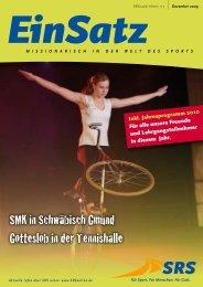SMK in Schwäbisch Gmünd Gotteslob in der Tennishalle - SRS