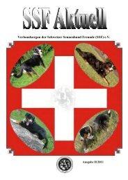 Verbandsorgan der Schweizer Sennenhund Freunde (SSF) e.V.