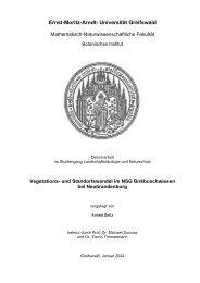 Vegetations- und Standortswandel im NSG Birkbuschwiesen bei ...