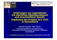 Präsentation / Presentation - Encare