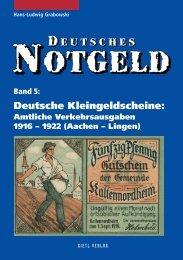 Deutsche Kleingeldscheine - Numis-Post