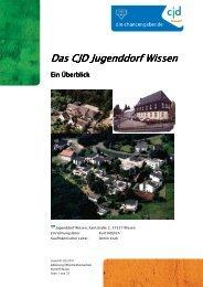 Das CJD Jugenddorf Wissen Jugenddorf Wissen ... - CJD Wissen