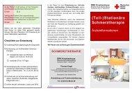 (Teil-)Stationäre Schmerztherapie - DRK Krankenhaus Altenkirchen