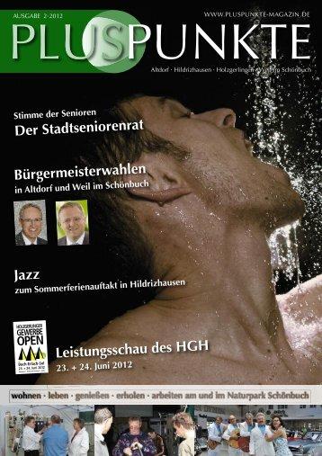 23. Juni 2012 - pluspunkte magazin