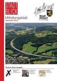 September2012-Stadtblick - Stadt Altdorf