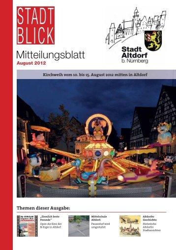 August 2012 - Stadt Altdorf