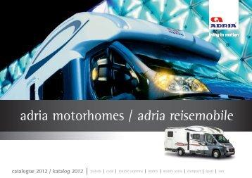 adria motorhomes / adria reisemobile