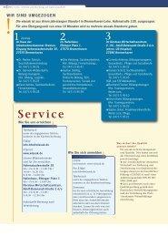 Service - Wirtschafts
