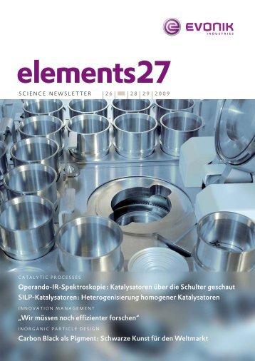 elements27 - Evonik Industries