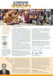 Jahresbericht 2010 - NETZ eV Partnerschaft für Entwicklung und ...
