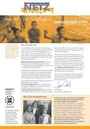 Jahresbericht 2008 - NETZ eV Partnerschaft für Entwicklung und ...