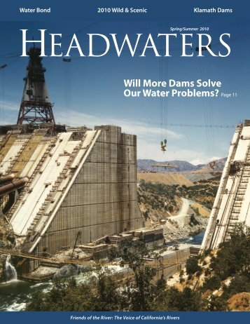 Will More Dams Solve Our Water Problems? - Friends of the River