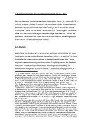 3. Baumaterialien und ihr Zusammenwirken beim ... - bei DuEPublico